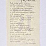 1 november